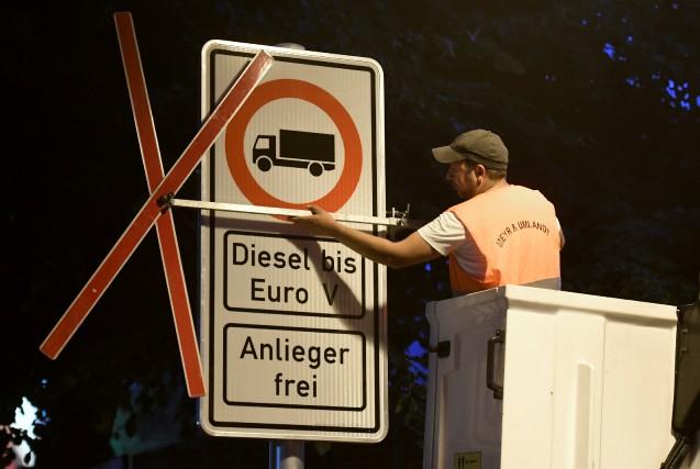 Le marché du diesel en chute libre en Allemagne