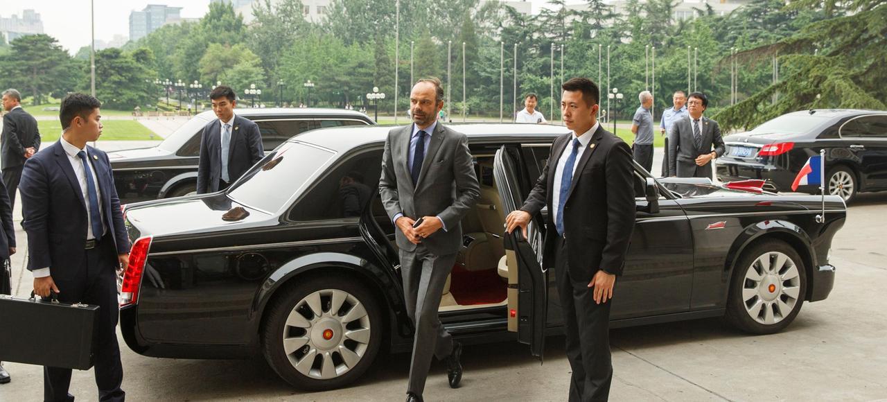 Le Premier ministre français en quête de meilleures relations commerciales avec la Chine