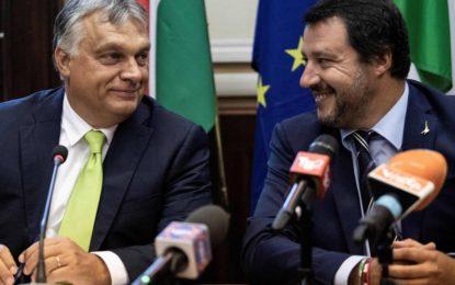 Italie–Hongrie : Rencontre à Milan de Salvini et Orban, deux partisans d'une ligne anti-migrants
