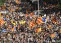 Un million d'indépendantistes catalans dans les rues de Barcelone pour la «Diada»