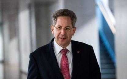 Merkel écarte le patron du renseignement allemand