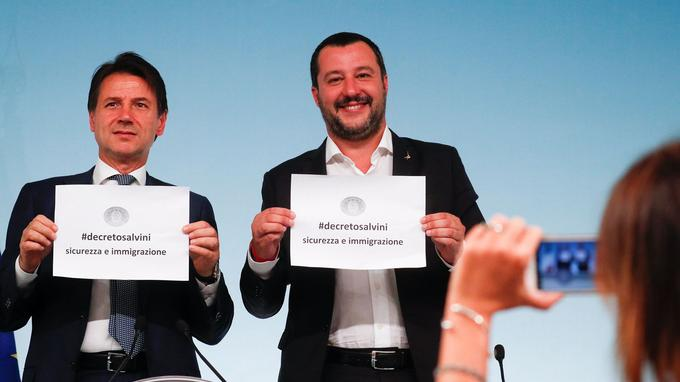 Le gouvernement italien approuve un projet de loi anti-migrants