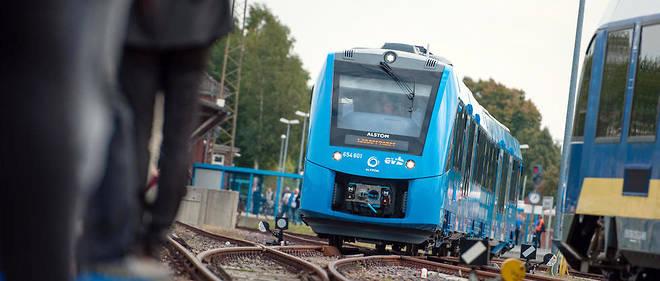 Alstom lance le premier train à hydrogène en service commercial en Allemagne