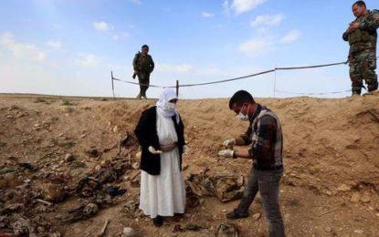 Libye : 110 corps découverts dans une fosse commune près de Syrte