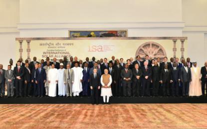 Inde : Première Assemblée Générale de l'Alliance solaire internationale