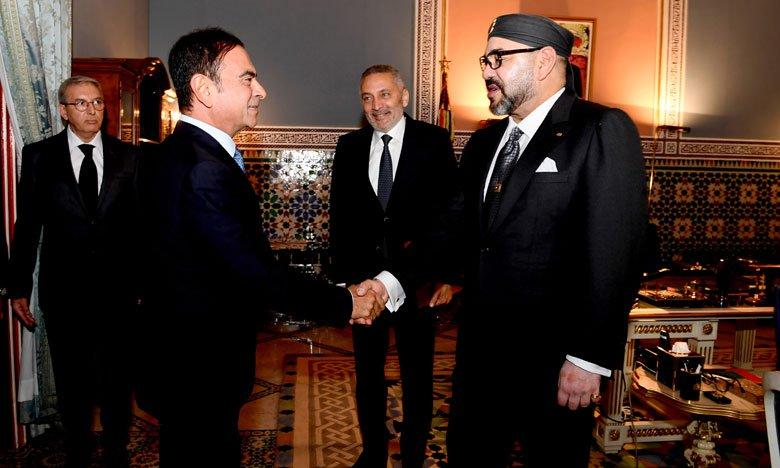 Le PDG de Renault informe le Roi du Maroc du doublement de la production de Somaca d'ici 2022