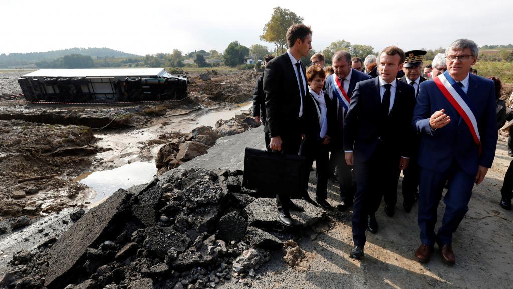 L'assistance se met en place dans les régions frappées par les intempéries en France