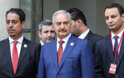 Libye : Le maréchal Haftar de passage à Rome