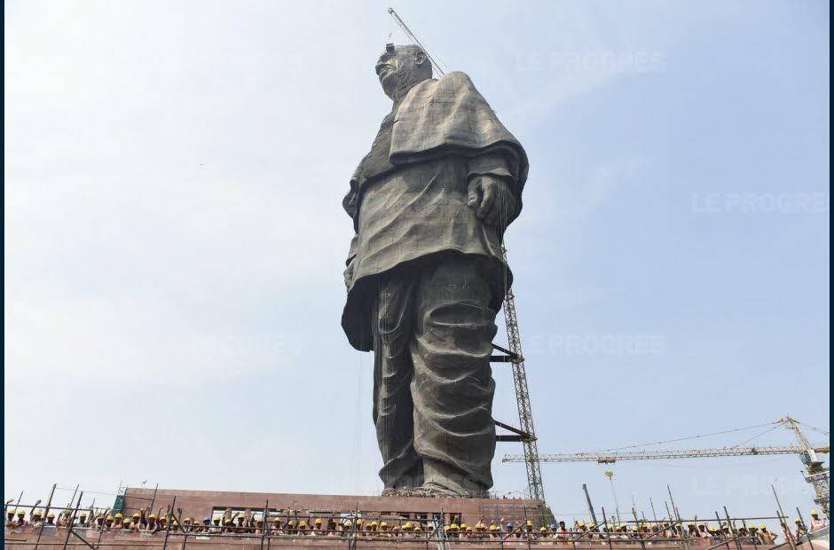 Inauguration en Inde  de la plus haute statue du monde