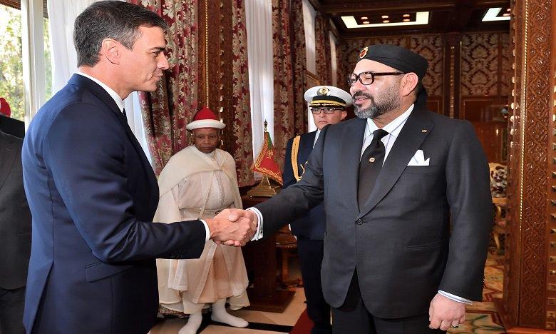 Maroc: Le roi Mohammed VI reçoit le président du gouvernement espagnol