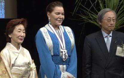 Maroc: La Princesse Lalla Hasnaa reçoit à Tokyo le prix international GOI Peace 2018