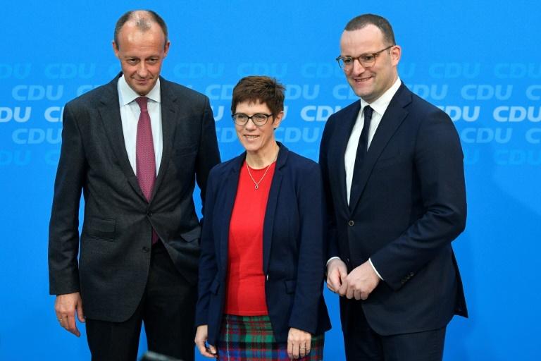Allemagne : Trois candidats briguent la présidence de la CDU