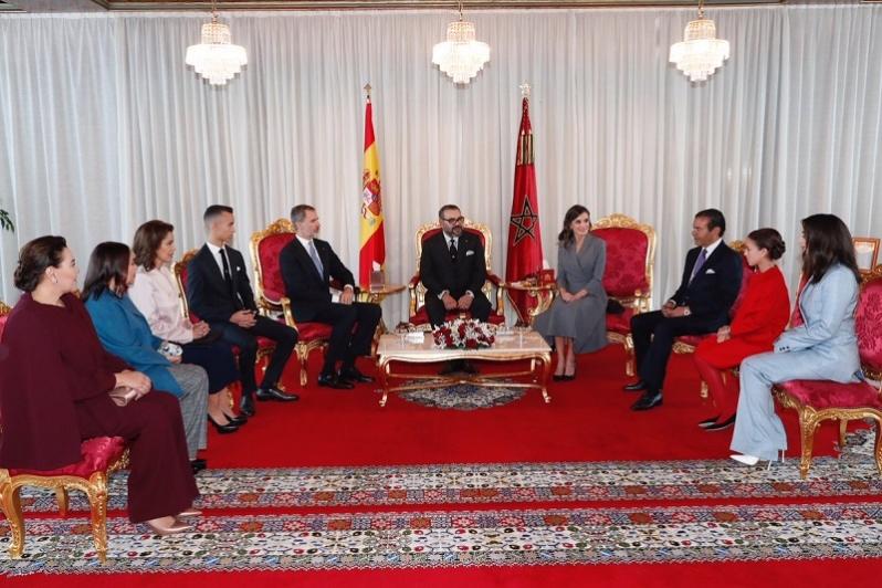 Le Roi Felipe VI d'Espagne en visite officielle au Maroc