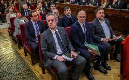 Espagne : Fin du procès des leaders indépendantistes catalans