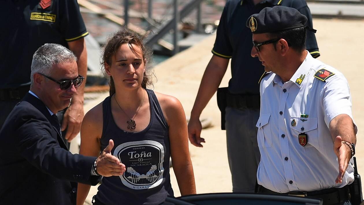Italie : Berlin demande la libération de Carola Rackete