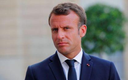 Macron appelle Tripoli à mettre fin à l'enfermement des migrants