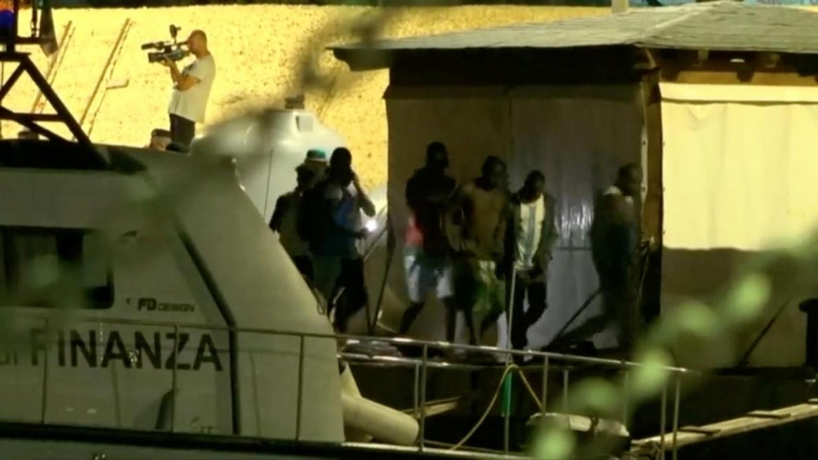 Italie : un nouveau navire humanitaire accoste de force à Lampedusa