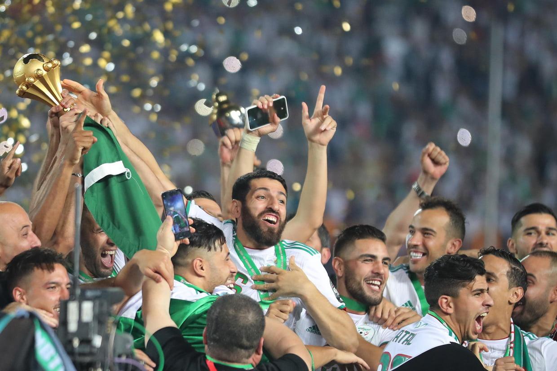 Le roi Mohammed VI félicite l'Algérie pour sa victoire à la CAN-2019