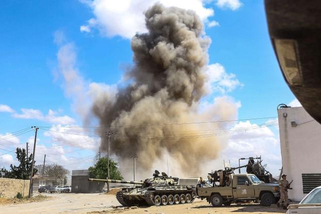 Libye : intensification des raids aériens dans la bataille de Tripoli