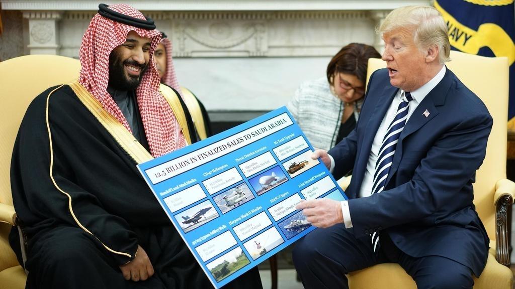 Blocage des ventes d'armes à l'Arabie saoudite : Trump utilise son veto