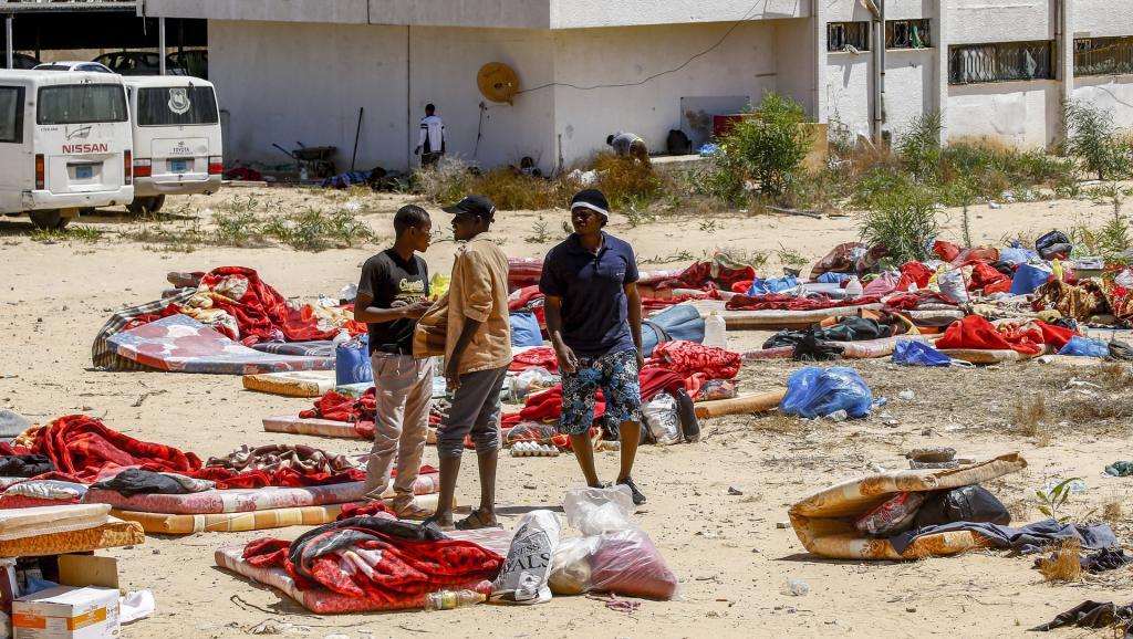 Libye : Des migrants auraient été victimes des tirs des gardiens du camp bombardé