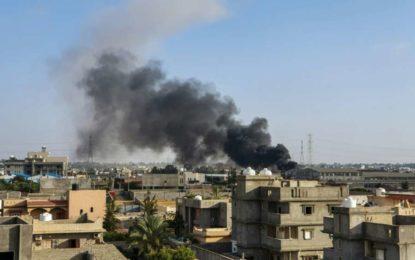 Au moins 42 morts dans un raid contre une ville du sud de la Libye
