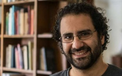 Le militant politique égyptien Alaa Abdel Fattah de nouveau arrêté