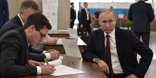 Russie : revers électoral pour le parti de Vladimir Poutine