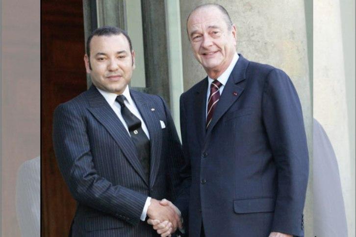 Le Roi Mohammed VI salue la mémoire de Jacques Chirac un «grand ami» du Maroc