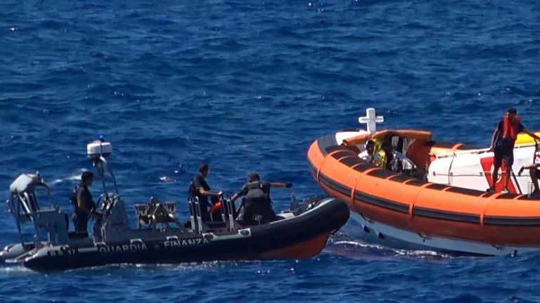 Rome autorise le débarquement de 80 migrants sur l'île de Lampedusa