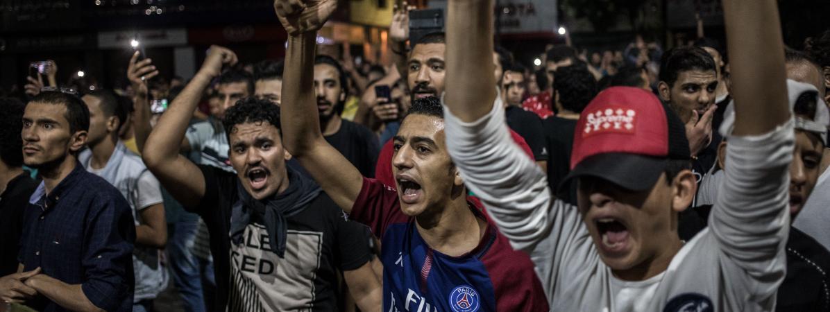 Egypte-Protestations : plus de 500 interpellations depuis le week-end dernier