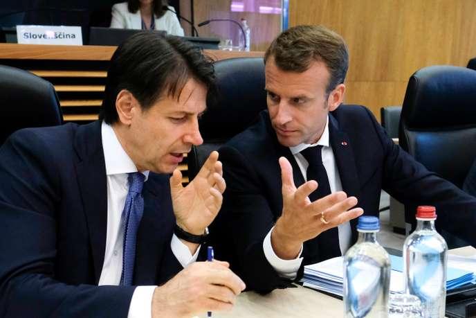 Le président français Emmanuel Macron à Rome pour revitaliser les rapports avec l'Italie