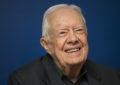 L'ex-président américain Jimmy Carter hospitalisé pour une fracture du bassin