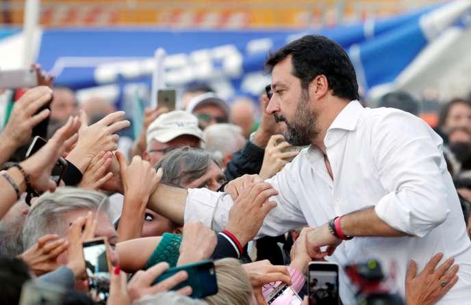 Italie : Salvini organise un grand rassemblement de la droite à Rome