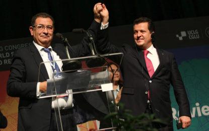 Election du Maroc à la présidence du CGLU-Monde