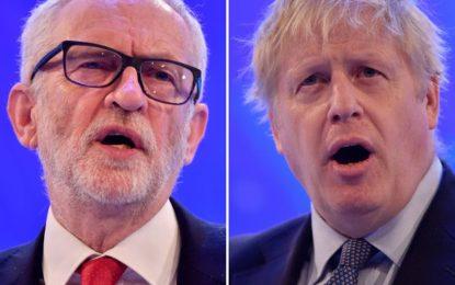 Royaume-Uni : premier débat télévisé entre Boris Johnson et Jeremy Corbyn
