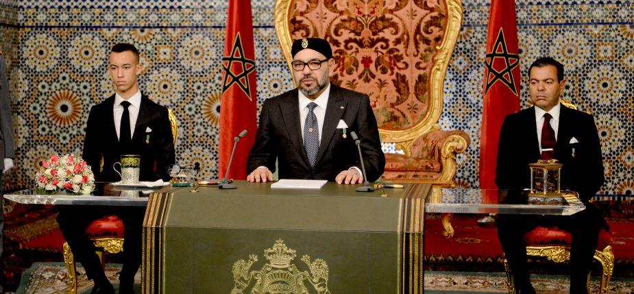 Marche Verte: Le Sahara, l'Afrique et le Maghreb, les sujets dominants du discours du Roi du Maroc