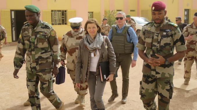 Tournée sahélienne de la ministre française des armées