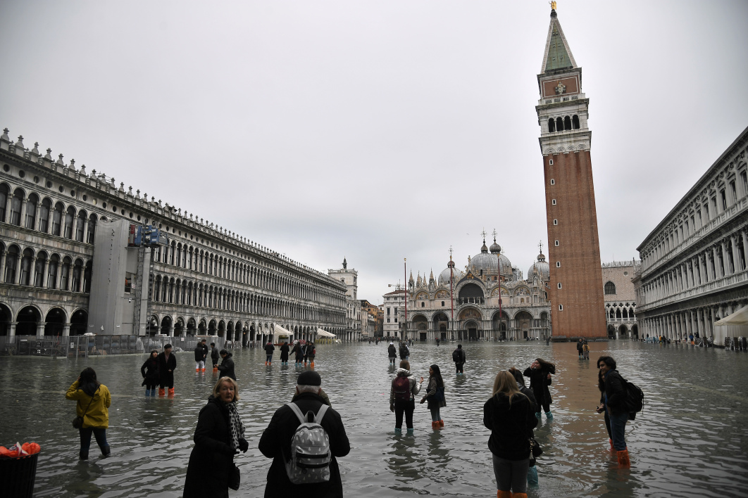 Le gouvernement italien décrète l'état d'urgence à Venise
