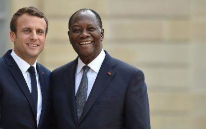Le président français, Emmanuel Macron attendu avant Noël en Côte d'Ivoire