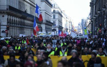 France : mobilisation générale massive contre la réforme des retraites