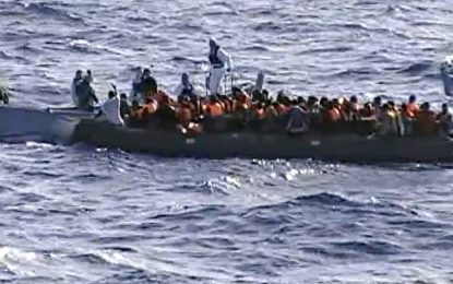 Sauvetage de 575 clandestins en l'espace d'une semaine, au large de la Libye