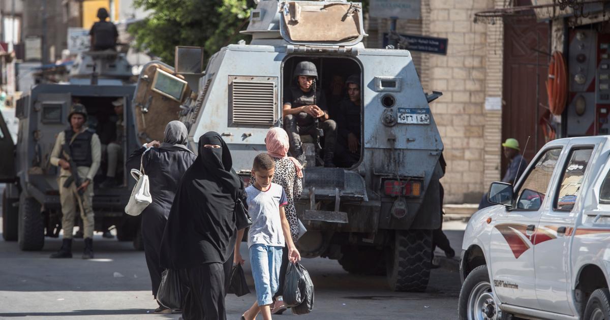 L'état d'urgence prolongé pour une période de trois mois en Egypte