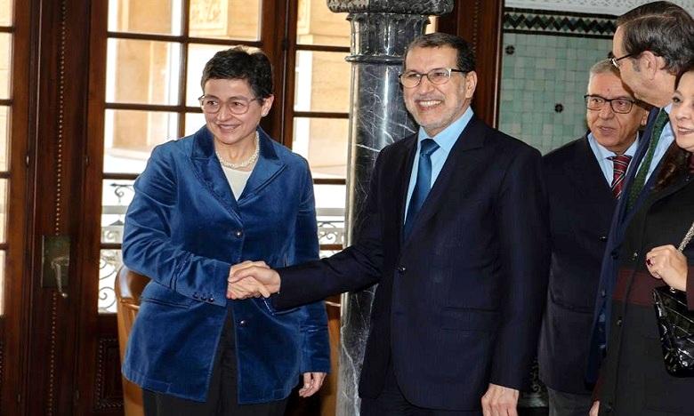 La ministre espagnole des A.E au Maroc pour sa première visite en dehors de l'UE