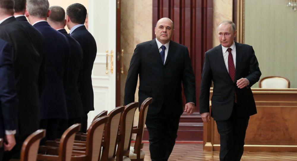 Russie : Vladimir Poutine présente son nouveau gouvernement