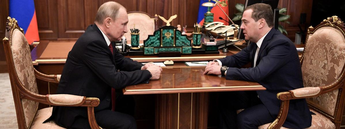 Russie : démission du gouvernement dans la foulée de l'annonce de réformes constitutionnelles