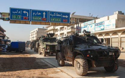 Affrontements meurtriers entre soldats turcs et syriens au nord-ouest de la Syrie