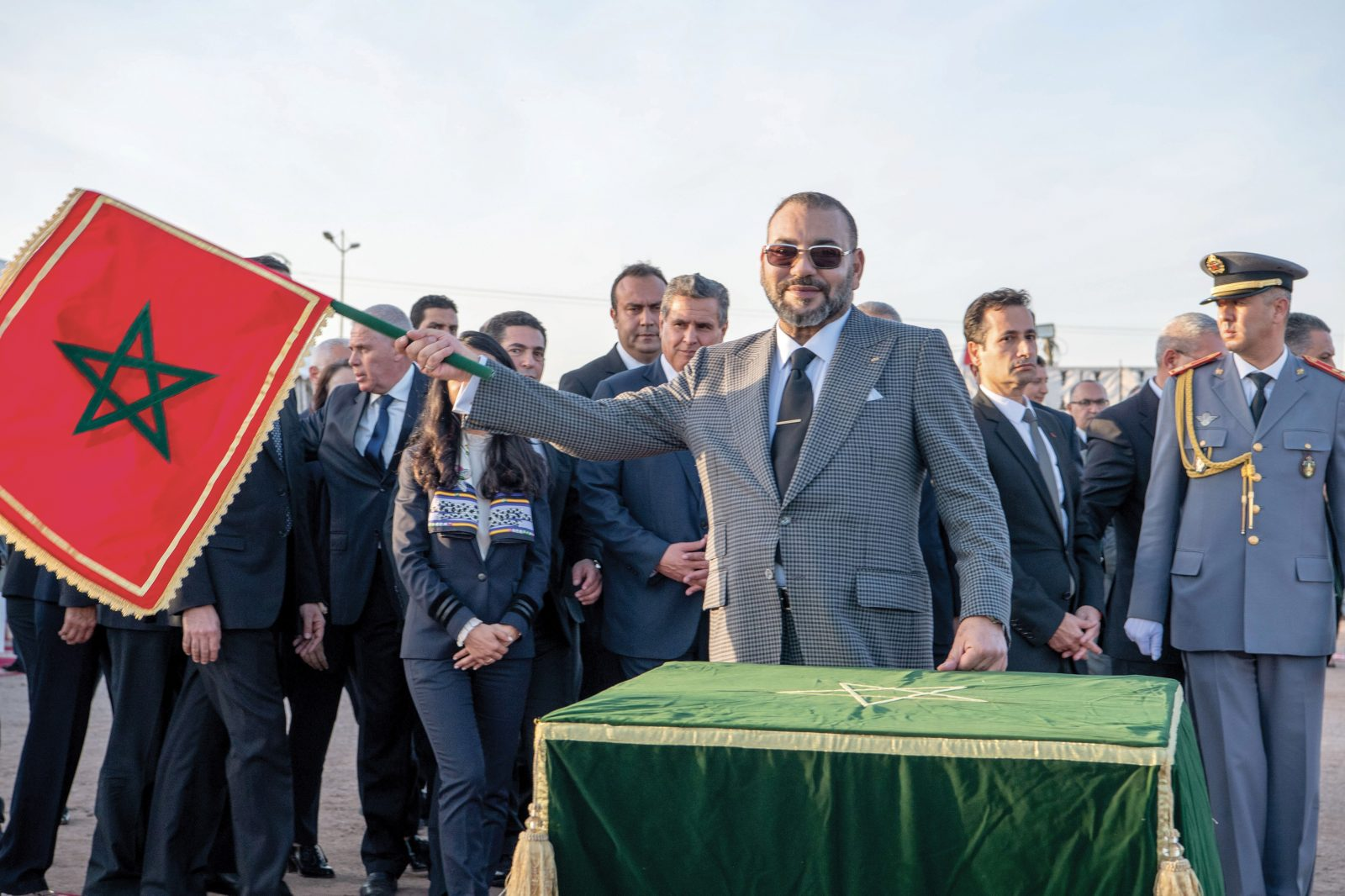 Le Roi Mohammed VI lance la construction d'un Hôpital de psychiatrie à Agadir