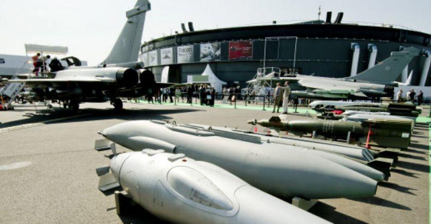 La France monte sur le podium du marché de l'armement