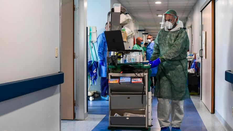 Coronavirus : l'Italie enregistre son plus faible nombre de nouvelles infections depuis le 10 mars